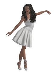 Woman Ballerina