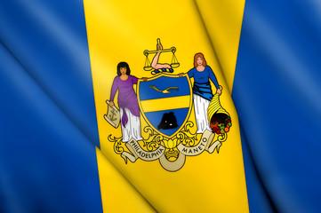 Flag of Philadelphia (USA)