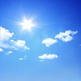 Sonne über den Wolken
