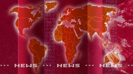 Newstextur rot