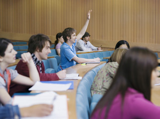 Students in lecture room