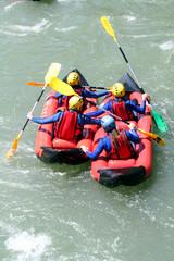 Kayak à quatre