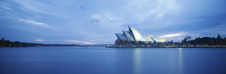 Sydney Harbor and Opera House