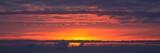 panoramic sundown poster