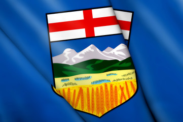 Flag of Alberta (Canada)