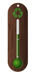 ecological thermometer