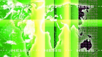 Nachrichtenhintergrund grün
