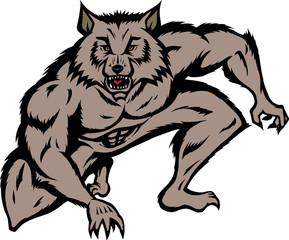Crouched Werewolf