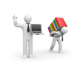 Fototapety Information technology