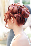 Beautiful prom hairstyle poster