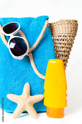 poster of Beach Items