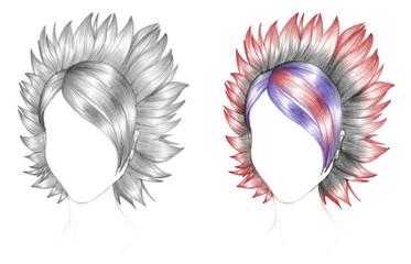 schizzo capelli 2