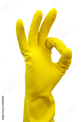 Glove For Cleaning Making