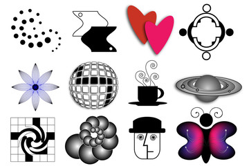 Random Vector Icons