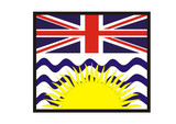 Unter des Sonne von British Columbia poster