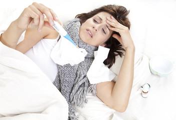 fieber und erkältung