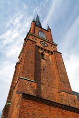Kirchturm in Stockholm