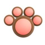 animal paw poster