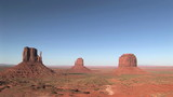 The Mittens and Merrick Butte, Monument Valley poster
