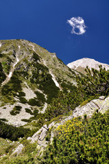 Pirin mountain is in europe bulgaria