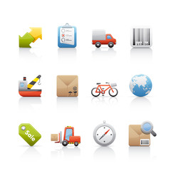 Icon Set - Shopping and business