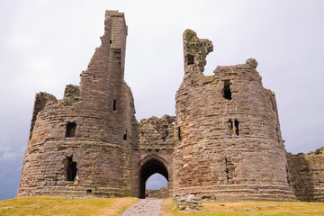 Ruined Gatehouse of Dunstanburgh Castle