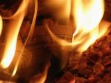journal en feu poster