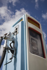 Petrol pump, close-up