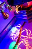 interior of a nightclub poster