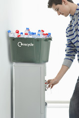 Man Recycling