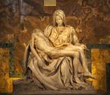 Michaelangelo Pieta Sculpture Vatican Rome Italy