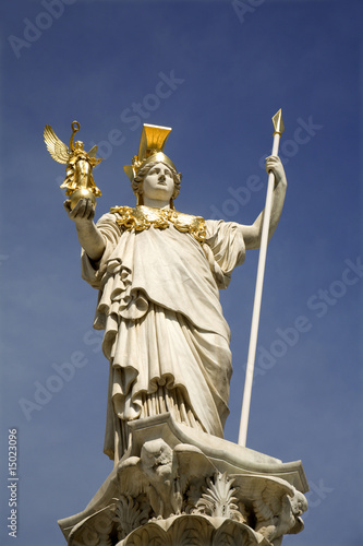 Athena - Vienna - Fountain for parliament