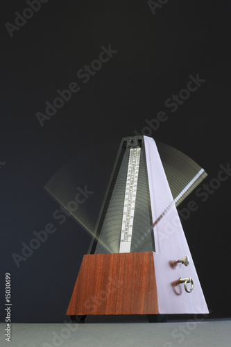 Metronome in motion