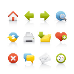 Icon Set - Web & Internet