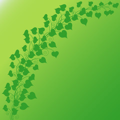 String of Hearts Green