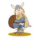 Viking pig poster
