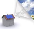 Maison photovoltaique gagner de l'argent