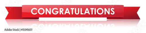 Congratulations Ribbon - 15041651