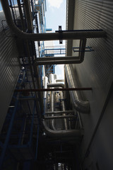Boiler complex of oil fired power station