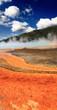 Midway Geyser Basin in Yellowstone