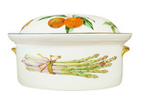 China Oven Dish isolated with clipping path poster