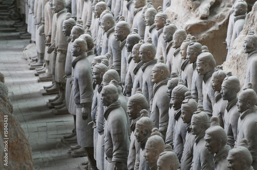 The Terracotta Army in Xian Poster