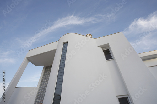 Cyprus, Facade of contemporary house