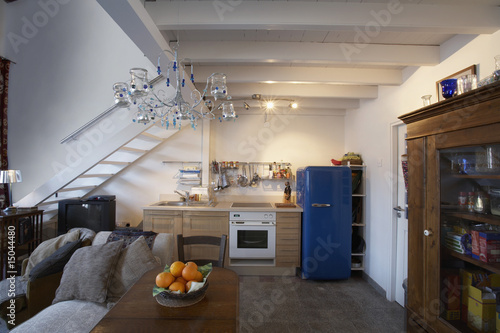 Cyprus, ground floor of studio apartment converted from antique store