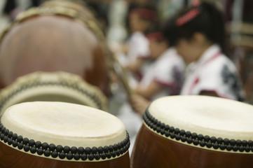 Japan, Nikko, Taiko drumming