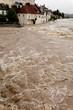 Überflutung bei Hochwasser nach Regen - 15050036