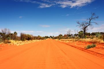 Australien Rotes Zentrum