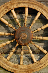 Closeup Spinning Wheel