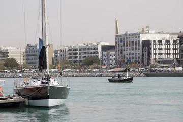 dubai uae waterfront along dubai creek sheikh saeed al-maktoum house