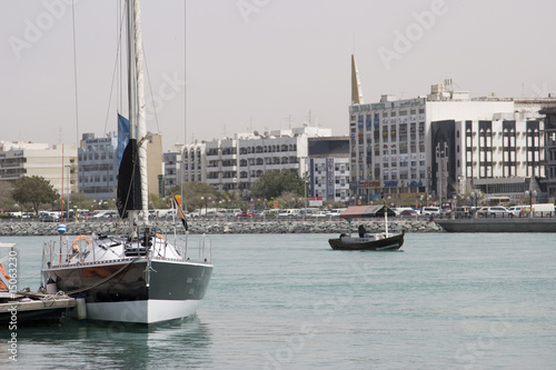 dubai uae waterfront along dubai creek sheikh saeed al-maktoum house